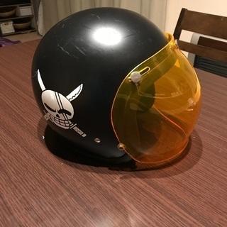 バイクヘルメットです。