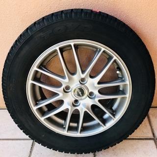 冬用タイヤ、ホイール付4本セット
