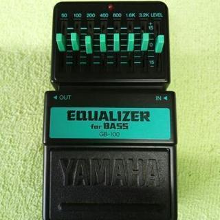 〈値下げ〉YAMAHA GB-100 ベース用イコライザー