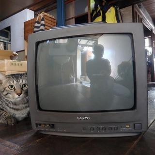 中古テレビ - SANYO、97年製、ブラウン管、14インチ -