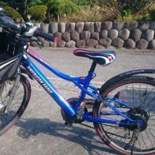 【22型】変速・スピードメーターつき!子供用自転車