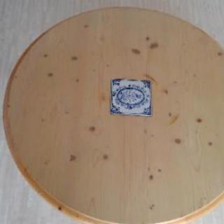 白木な円形こたつ✡️円形こたつ布団つきます!