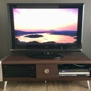 【再値下げ】テレビ台 中古 幅124cm モダン