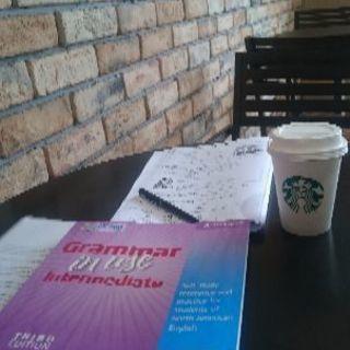 カフェで英会語レッスン