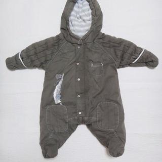 (中古)フランスの赤ちゃん服3MOIS(3か月)60cmコート