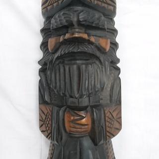 ※値下【民芸品】木彫りの置物①【レトロ】