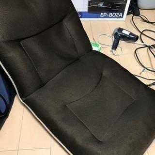 ブラウンカラー座椅子
