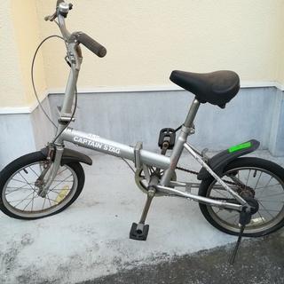 【受渡し協議中につき受付一時中止】折りたたみ自転車 【ジャンク品扱い】