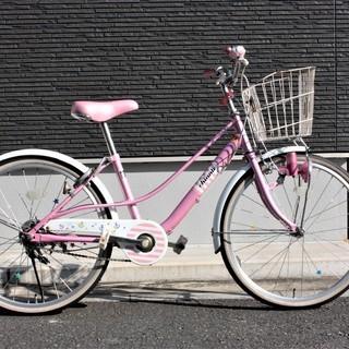 子供用自転車 22インチ 色:ピンク