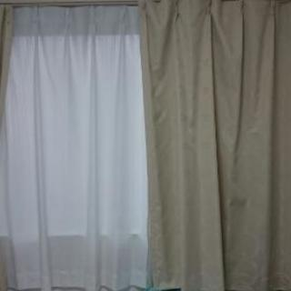 ニトリ 遮光1級カーテン&レースカーテン