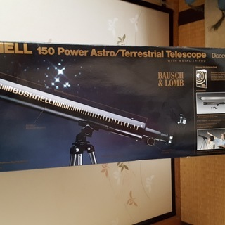 天体望遠鏡 bushnell 150 power astro/t...