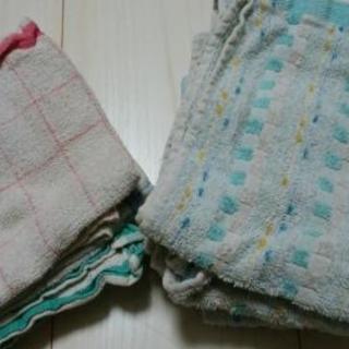 雑巾/ハンド&フェイスタオルサイズ