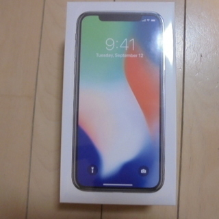 【取引終了】【11月11日午前中まで】iPhoneX シルバー ...