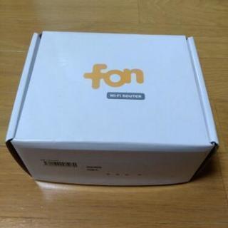 fon Wi-fi ルーター ソフトバンク携帯電話