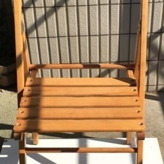 折りたたみ椅子×2