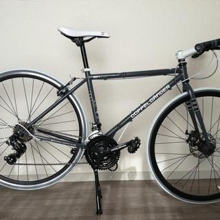 自転車 折りたたみクロスバイク 824DUEドッペルギャンガー