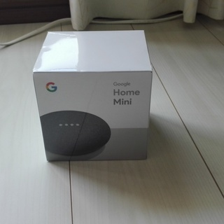 【値下げしました】Google Home Mini(チャコール)