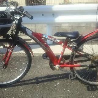 子供用自転車24インチチェーン切れ
