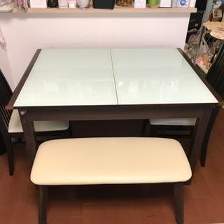 伸縮〉〉ダイニング テーブル セット(バラ売りも可)