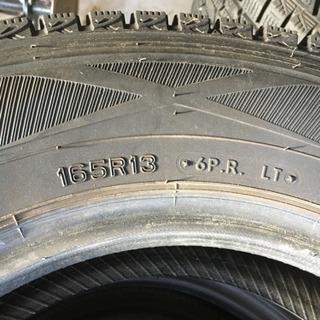 スタッドレスタイヤ 165R13 6p 4本