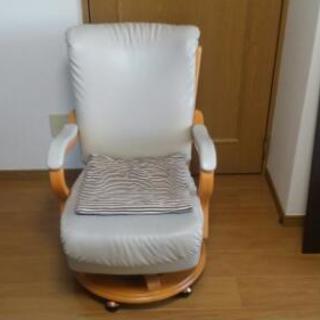 キャスター付きの、リラックス椅子♪
