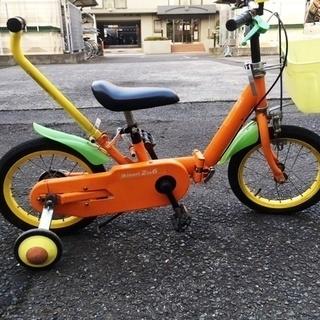 【差し上げます】幼児用自転車 Ikinari 2 to 6(補助輪付)
