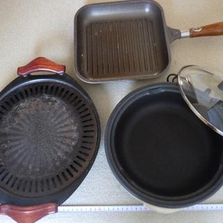 三洋電機 グリル鍋 /焼肉用鍋、フライパン【中古】