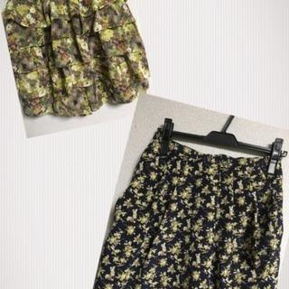 スカート&キュロットスカート 2つセット