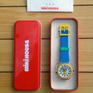 ミキハウス 腕時計【青】