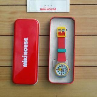 ミキハウス 腕時計【赤】