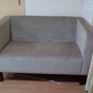 モデルルームのソファ