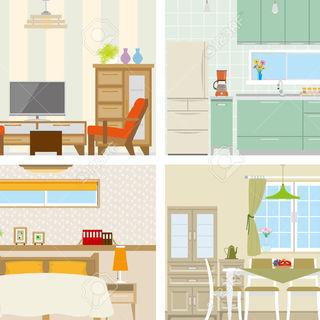【中古】シングルベッド(掛け布団/枕付き)・冷蔵庫・洗濯機・電子レ...