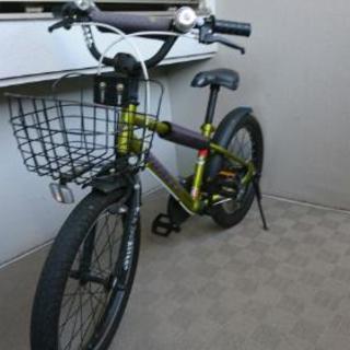 18インチ キッズ用自転車 カッコいい!