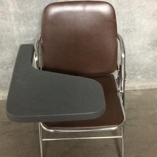 テーブル付き折り畳みパイプ椅子
