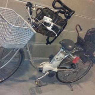 電動アシスト自転車 子ども乗せ付き