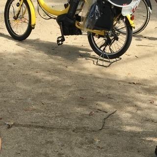 電動自転車が盗まれました。