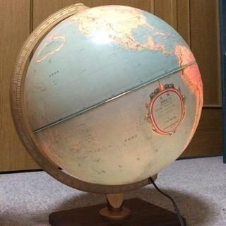 【3月末までの掲載】Replogle 日本語地球儀 間接照明