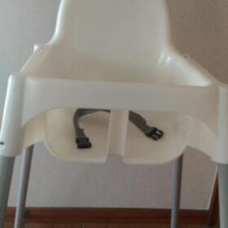 《新古品》IKEA 子供食事椅子