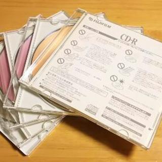 値下げしました!5枚セット。FUJIフィルム社製の記録用CD-R700MB 新品 未使用 - 木津川市