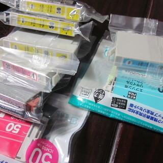 エプソンプリンター用インクカートリッジ(社外品)