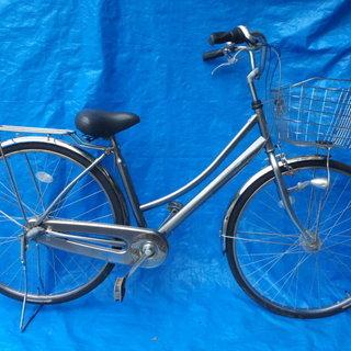 LEDオートライト付ママチャリ 中古自転車 126