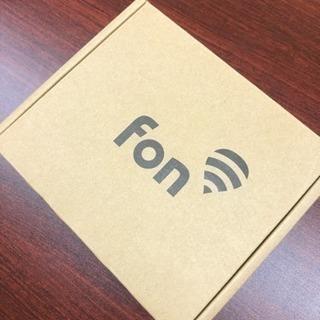 fon wifiルーター FON2601E