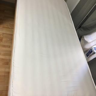 無印 パイン材 シングル ベッド