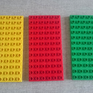 ◎レゴデュプロ 基礎板3枚まとめてお譲りします!
