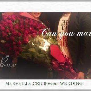 サプライズ・プロポーズは108本の赤いバラで永遠を贈ろう♪大阪市...
