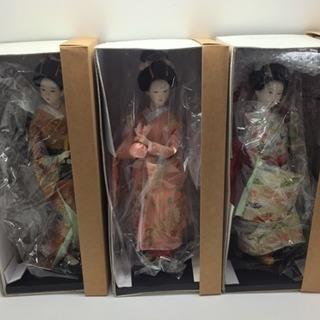 新品未使用 日本人形  宇平人形 六体  海外へのお土産に