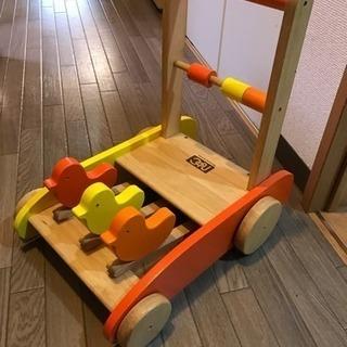 木製 手押し車 ニチガンオリジナル