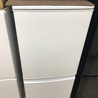 ★激安割引価格★2ドア SJ-14Y-W 137L 冷蔵庫★10k...