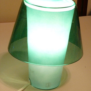 IKEA【ベッドサイドランプ】間接照明 グリーンランプ ※11/2...
