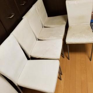 椅子5脚あげます!